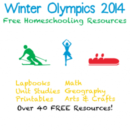 Winter Olympics 2014 Free Homeschooling Resources