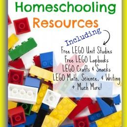 Hundreds of FREE LEGO Homeschooling Resources