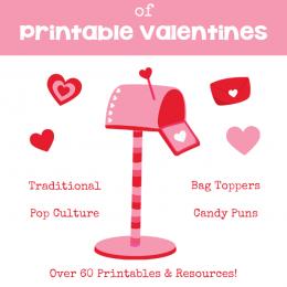 Huge List of Free Printable Valentines