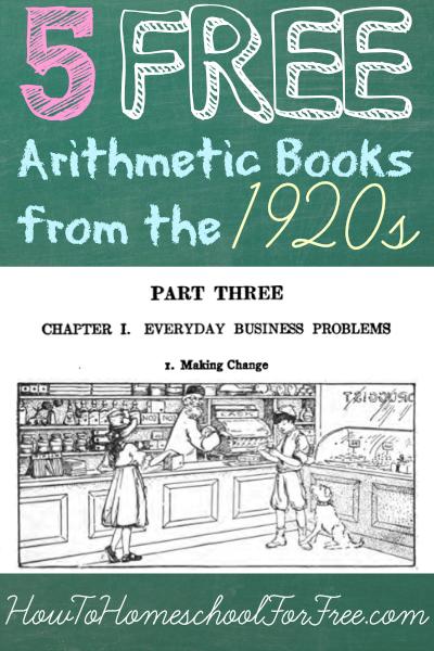 Arithmetic books