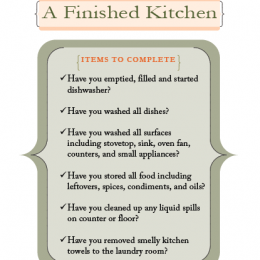 Kitchen Cleaning Printable for Kids