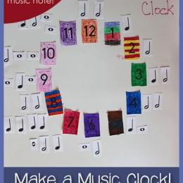 Make a Music Clock