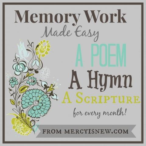Memory Work Made Easy