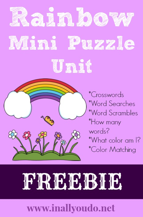 Rainbow Mini Puzzle Unit