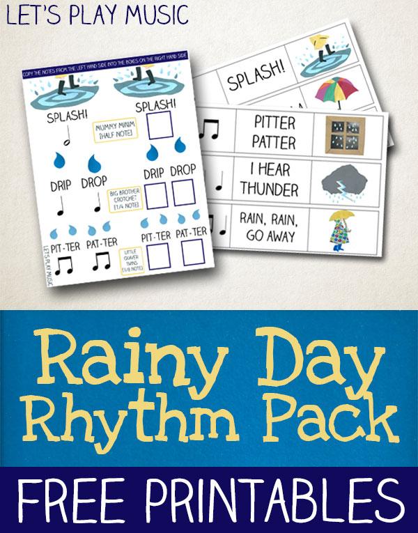 Rainy Day Rhythm Pack