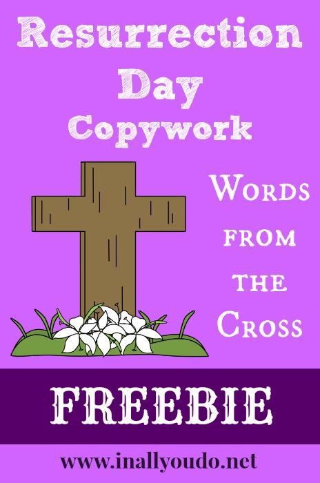 Resurrection Day Copywork