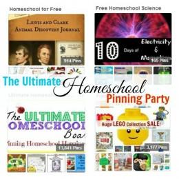 Ultimate Homeschool Pinterest Party on Free Homeschool Deals