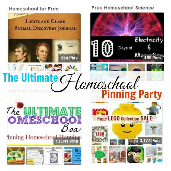 Ultimate Homeschool Pinterest Party on Free Homeschool Deals
