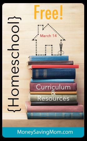 HUGE List of Free Homeschooling Resources from MoneySavingMom.com!