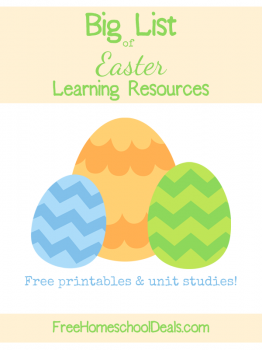 Easter learning resources