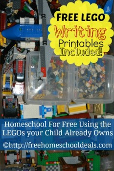 How to Homeschool for Free with Legos