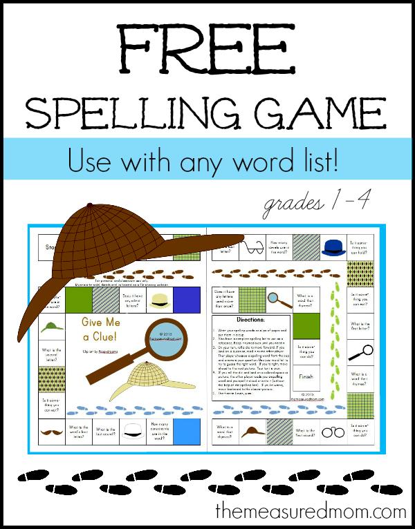 Spelling Word Games Online