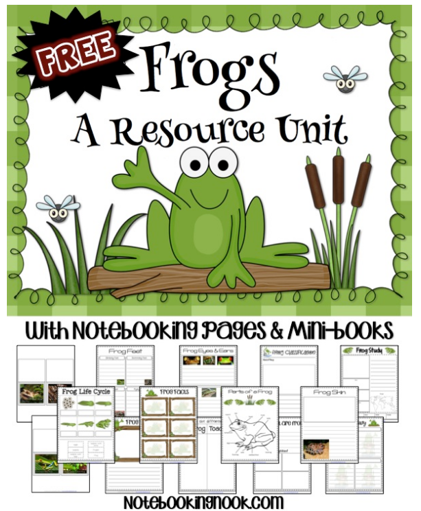 Frogs Resource Unit