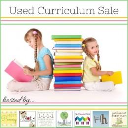 used homeschool curriculum sale