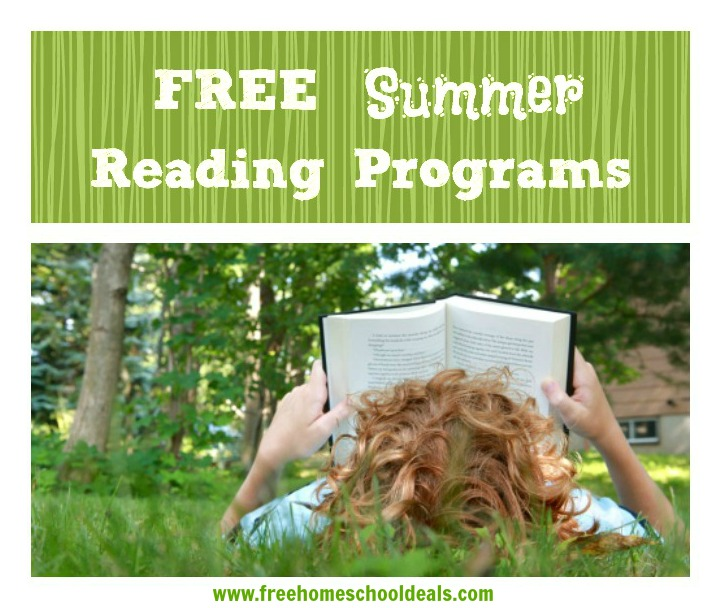 Free Summer Reading Programs with Rewards for 2014
