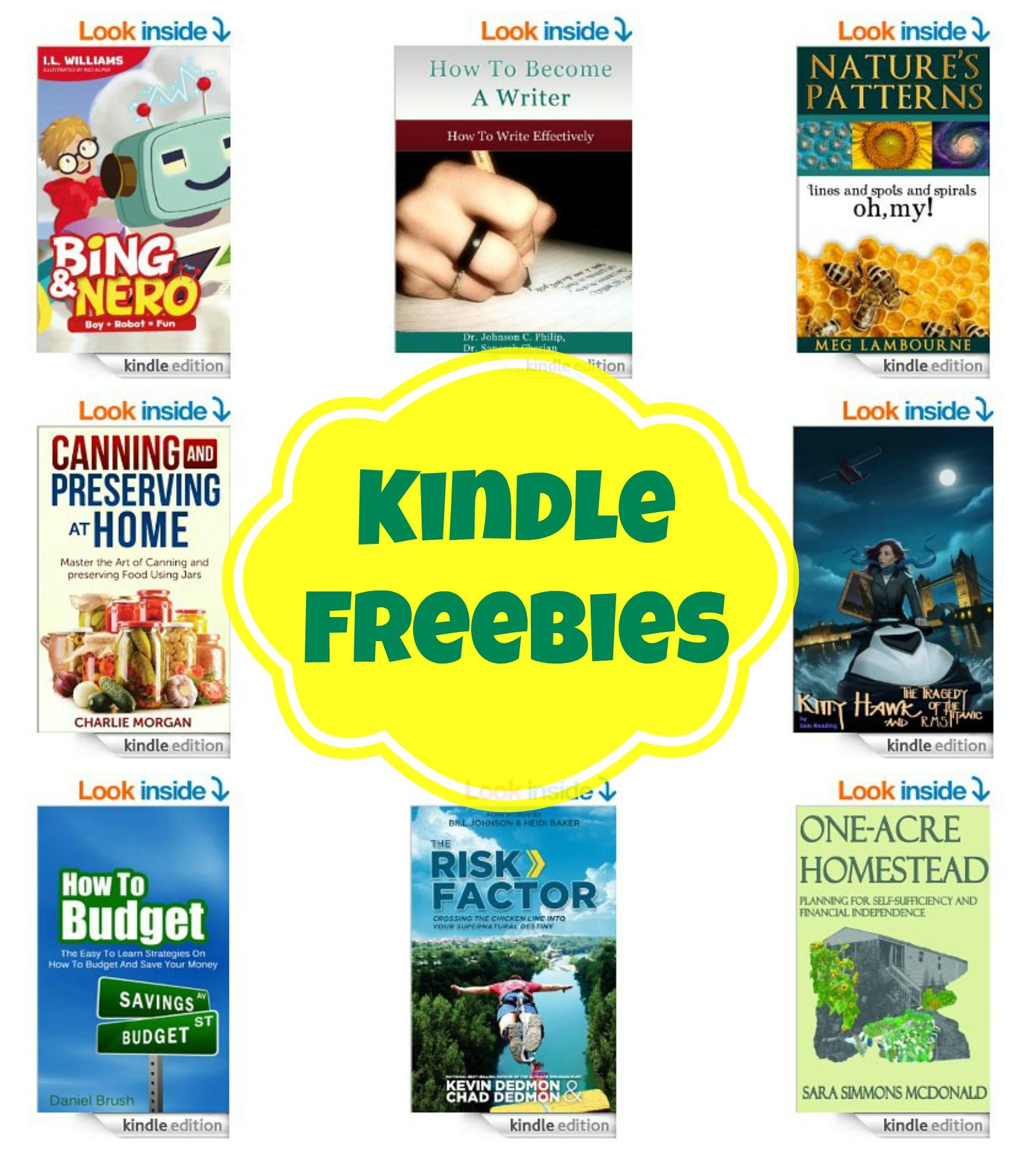 12 Kindle Freebies