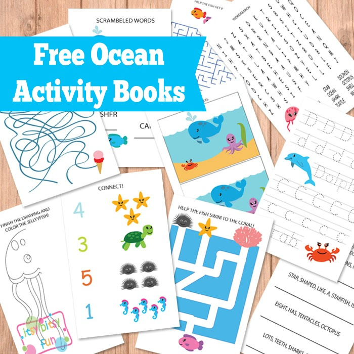 Free Printable Kindergarten Booklets