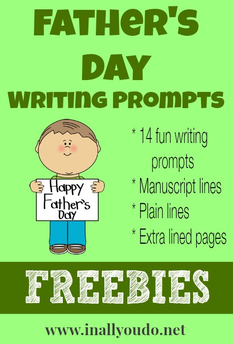 Father's Day Writing Prompts