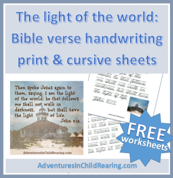 picture about Free Printable Bible Verses Handwriting named Absolutely free Bible Verse Creating Printables