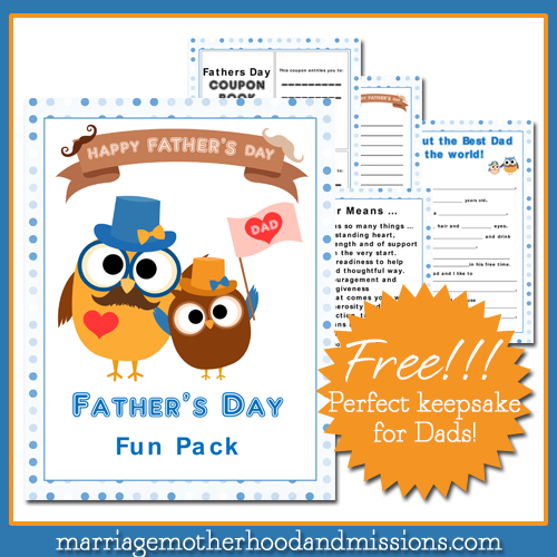 Father's Day Fun Pack