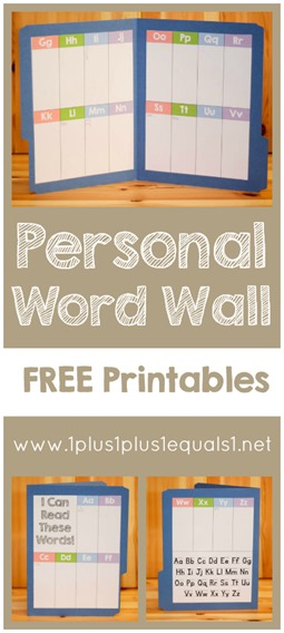 photo about Word Wall Printable titled Specific Term Wall Printable Freebie