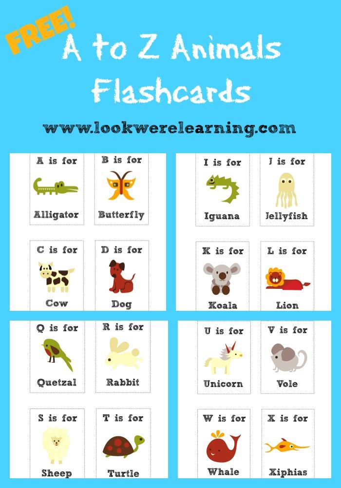 List alphabet printable letters of English Alphabet