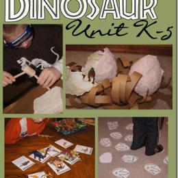 FREE Dinosaur Unit Study