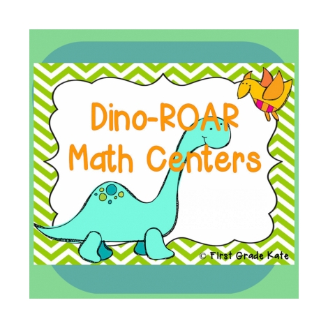free dinosaur math printables