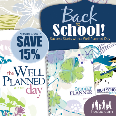 well planned day sale