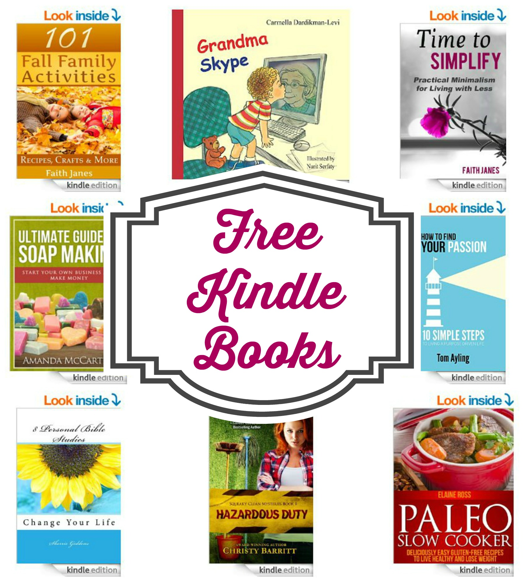 Find Kindle Freebies Every Day!