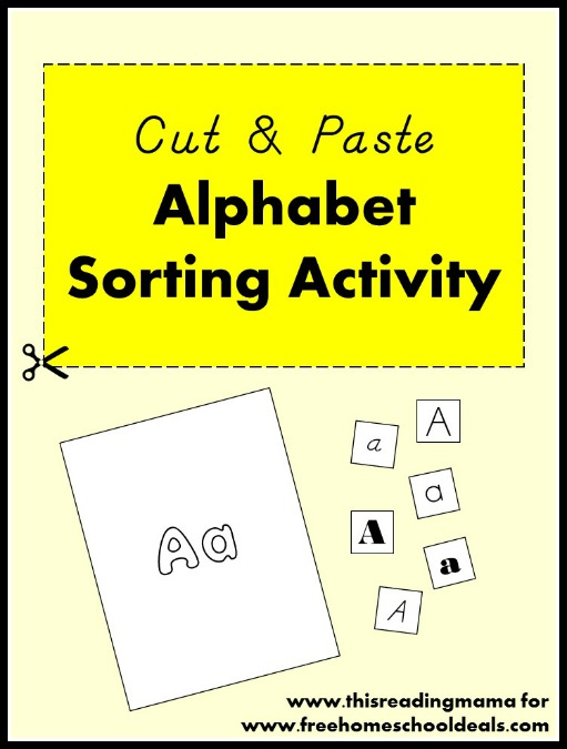 Cut-and-Paste-Alphabet-Sorting-Activity