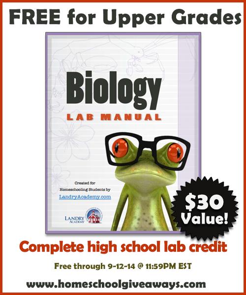 Free Download Biology Laboratory Manual