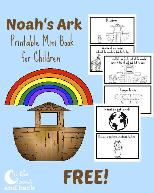 Priceless image for free printable pictures of noah's ark