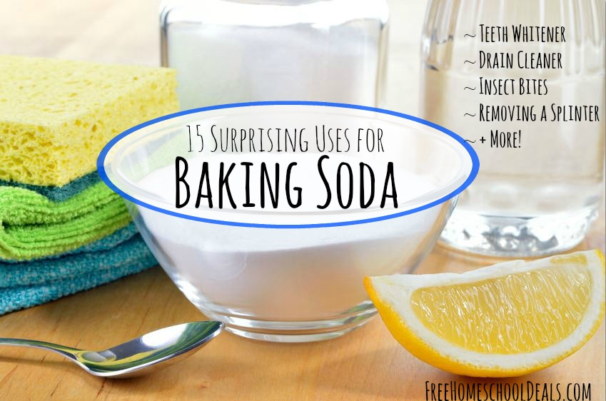 15 Uses for Baking Soda