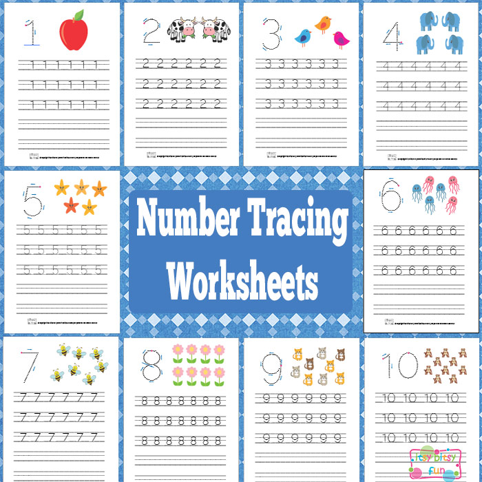 FREE Number Tracing Worksheets | Free Homeschool Deals