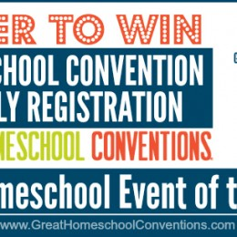 GIVEAWAY: WIN A FAMILY REGISTRATION TO THE 2015 HOMESCHOOL EVENT OF THE YEAR – Four Winners!