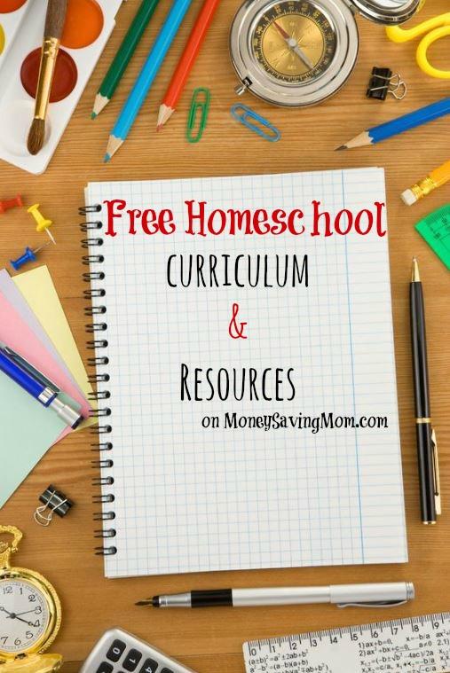 HUGE List of Homeschool Curriculum and Freebies