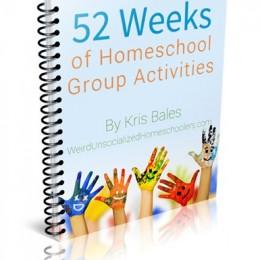 FREE 52 Weeks of Homeschool Group Activities eBook
