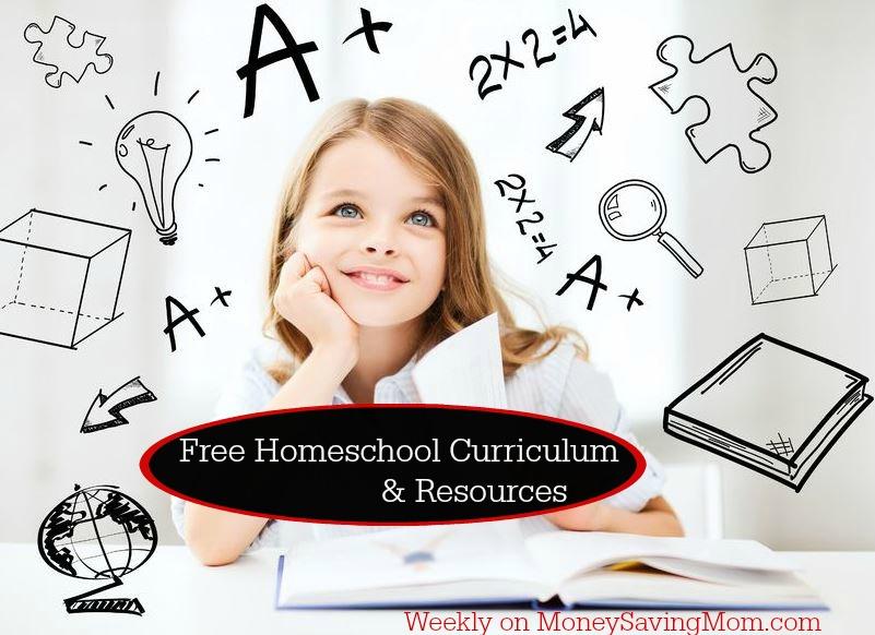 Free Homeschool Curriculum and Resources on MoneySavingMom.com