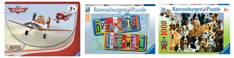 Ravensburger Puzzles under $5 Each