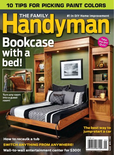 Family Handyman Magazine Subscription Only $6.99!