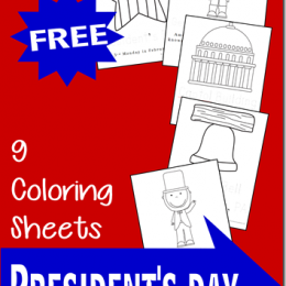 FREE Presidents Day Coloring Pages