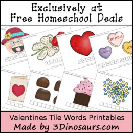 FREE Valentine's Day Spelling Words (20 Page Pack!) (instant download)