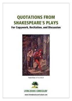 Free Shakespeare Copywork