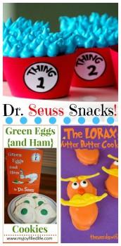 Big YUMMY List of Dr. Seuss Snacks - over 40!