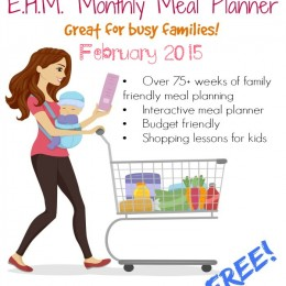 FREE February Meal Planner