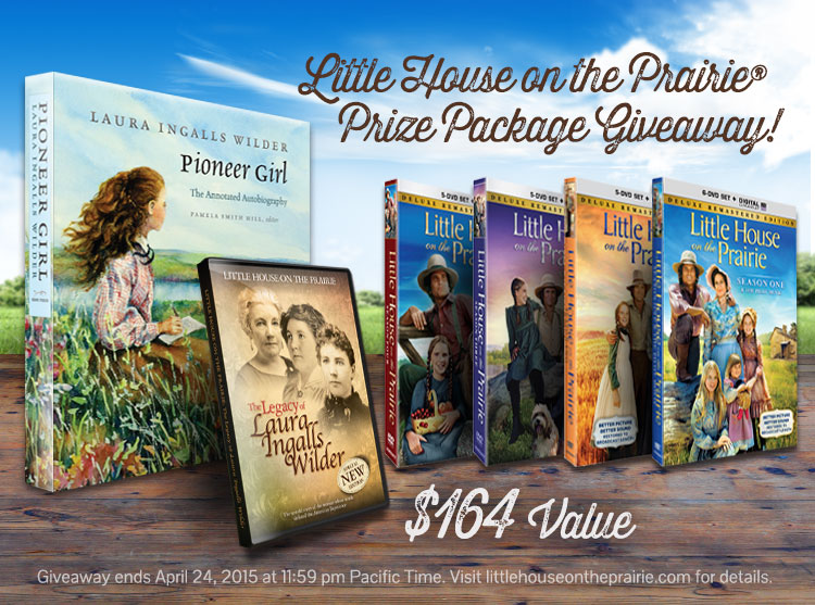 free home giveaway little house on the prairie 174 164 prize package giveaway 7217