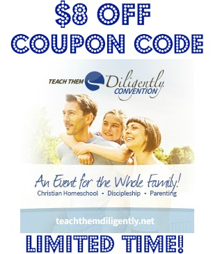 Teach Them Diligently Coupon code