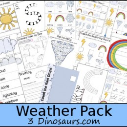 FREE Weather Learning Pack