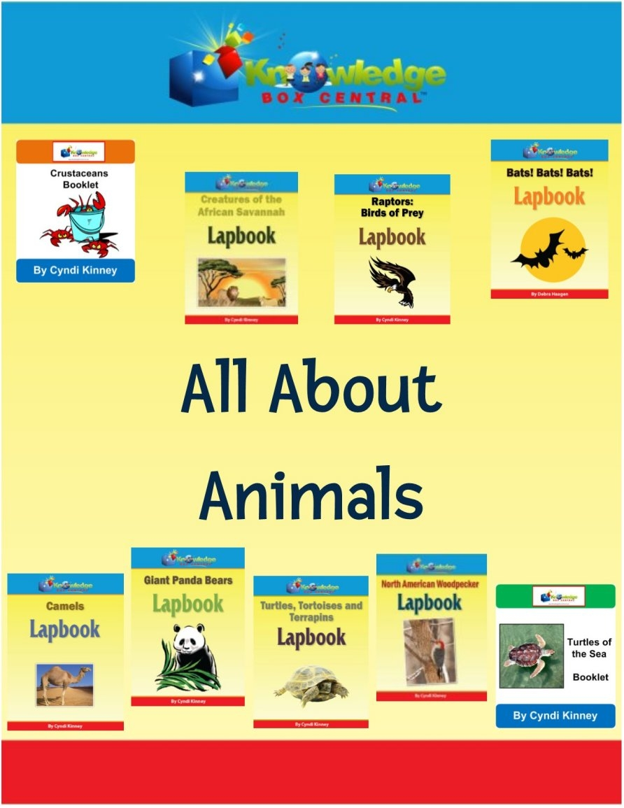 All About Animals Lapbook Bundle Only $15! (Reg. $36!)